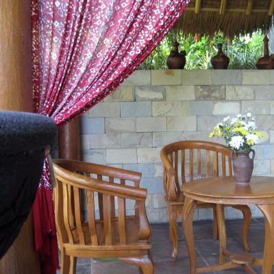 Spa, pool dan sauna di Kampung Sampireun Resort and Spa