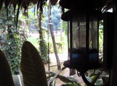Warung tradisional di Kampung Sampireun