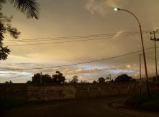 Langit Senja Jingga