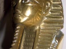 Miniatur patung - kepala Firaun