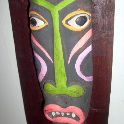 Hiasan dinding - suku tradisional