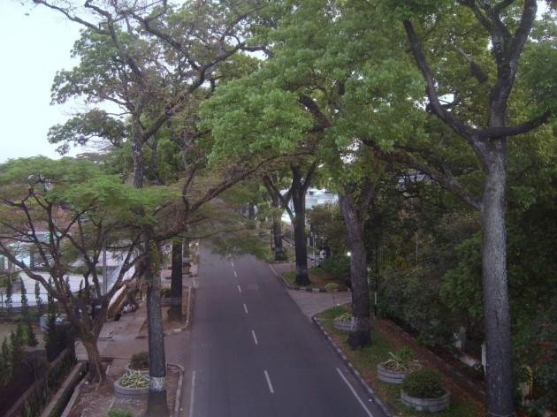 Jalan Cipaganti dari Pasupati
