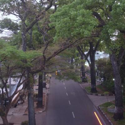 Jalan Cipaganti - jalan layangPasupati