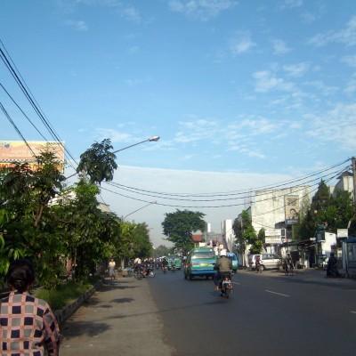 Awan aneh - jalan Pajajaran, Bandung