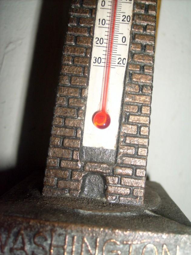 Miniatur Washington Monument - termometer