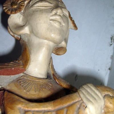 Patung Tradisional Kayu