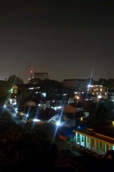 pemandangan malam Pasupati