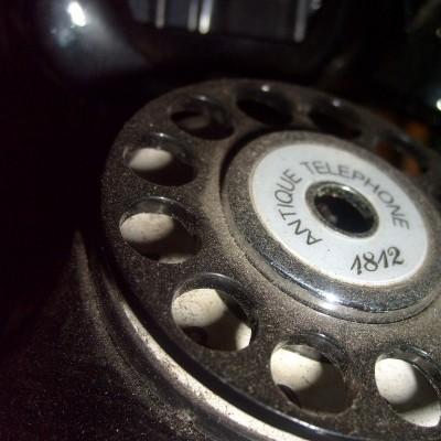 Miniatur Telepon Jaman Dulu - Antik