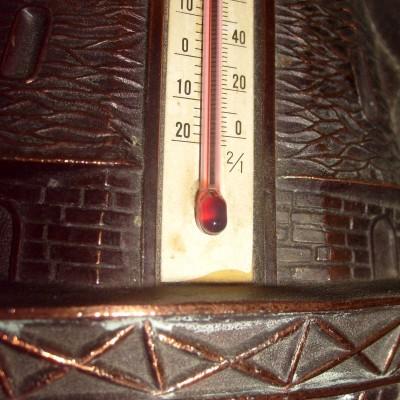 Termometer Kincir Angin - Detail