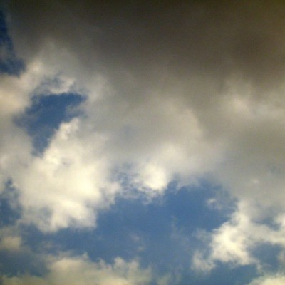 Langit berawan - mendung