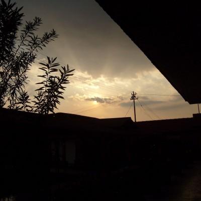 Matahari tertutup awan - RS Dustira