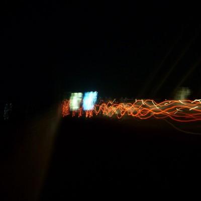 Perjalanan malam 1 foto 4 - cahaya abstrak