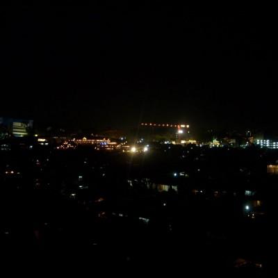 Foto Perjalanan Malam Seri 1 Pemandangan Lampu Kota Jeprat
