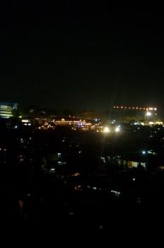 Pemandangan malam 1 foto 2 - pemandangan lampu rumah