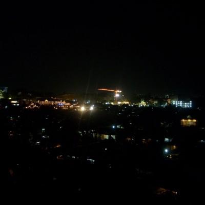 Pemandangan malam 1 foto 3 - pemandangan lampu rumah