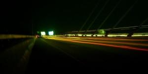 Perjalanan malam 1 foto 1 - flyover Pasupati
