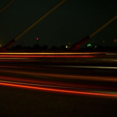 Perjalanan malam 1 foto 2 - dekat tiang flyover Pasupati
