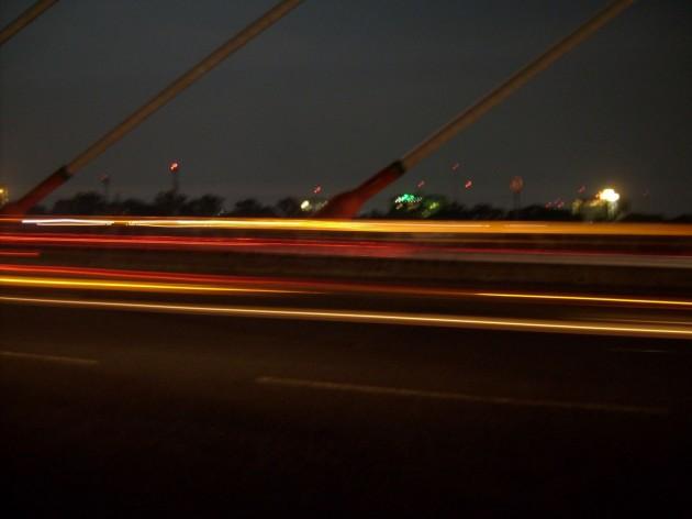 Perjalanan malam 1 foto 3 - dekat tiang flyover Pasupati