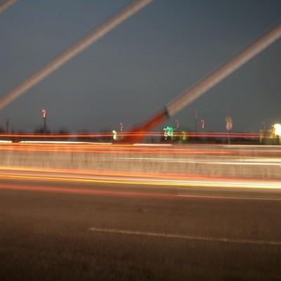 Perjalanan malam 1 foto 4 - dekat tiang flyover Pasupati