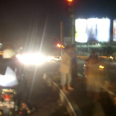 Perjalanan malam 1 foto 3 - lampu merah Pasteur