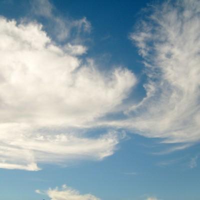 Langit dengan awan berombak 2
