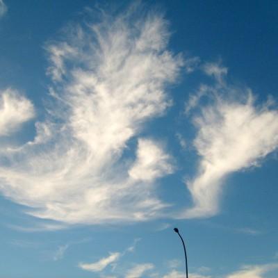Langit dengan awan berombak 4