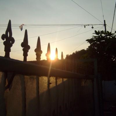 Pemandangan langit sore 5