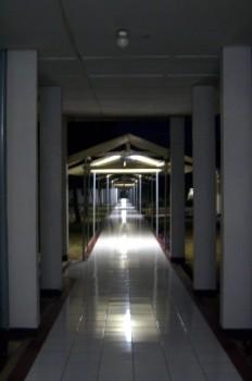 Koridor rumah sakit Dustira