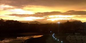 Pemandangan langit senja Pemkot Cimahi 1