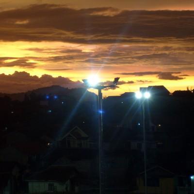 Pemandangan langit senja Pemkot Cimahi 9