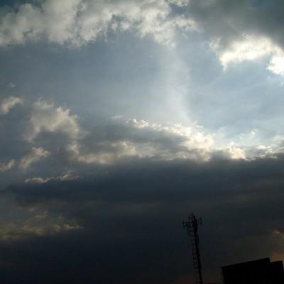 Cahaya langit di Fly-Over Pasupati, Bandung