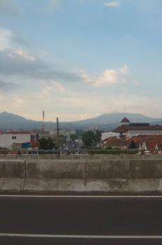 Pemandangan Langit Berawan - Fly-Over Pasupati, Bandung