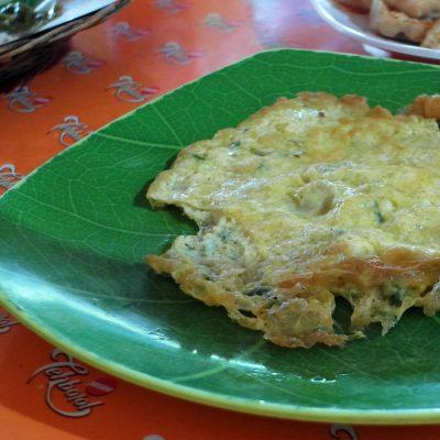 Rumah Makan Nasi TO Mr Rahmat - menu telur dadar
