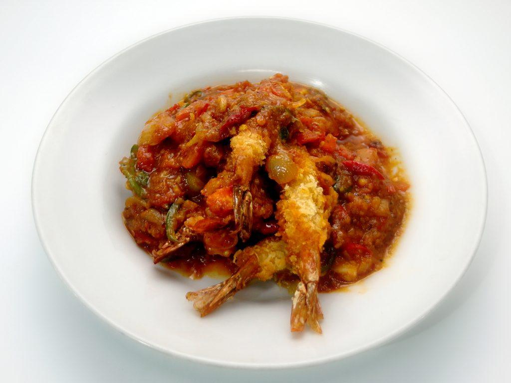 """Menu masakan """"Udang Tempura Bumbu Tuna Pedas"""" ala Acak Acak Dapur » riftom.com"""